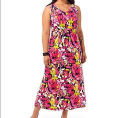 Floral Maxi Plus size Westbound  Dresses Maxi
