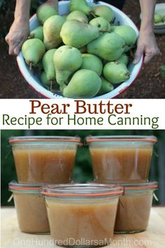 Last summer we had bumper crop of pearsand turned them into pear butter and let me tell you Bob, it was freakin' delicious!If you've never made pear butter you should give it a try. My favorite way to enjoy it is on toast or pancakes. Here is the recipes – it's easy, I promise. Ingredients …