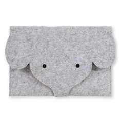 93554 Kit filt taske 30x25cm lys grå melange