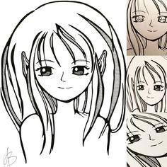 Op vele manieren kan een mens zich uitdrukken. Ik schrijf mijn woorden op of pak een potlood, gum en mijn zwarte stiften. Deze keer verschijnt dit mooie meisje op mijn papier. Geïnspireerd door #zijvan10, zij tekent al een tijdje Japanse mangafiguren en verslindt de ene naar de andere anime. Mijn favoriete Japanse kinderanimatie van vroeger is: Candy Candy. Nog steeds kan ik de tekst van de begintune zingen. #handdrawn #mangatekening #mangatekenen #manga #mangagirl #mangadrawing #mangadraw…