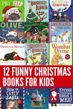 A collection of some of the funniest ever Christmas picture books for kids. These will have your child laughing out loud!