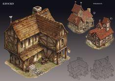 ArtStation - Merlin - tavern, Son Nguyen
