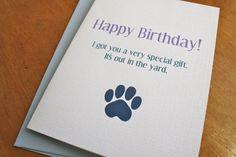 Ha! Ha! Ha! Birthday Card