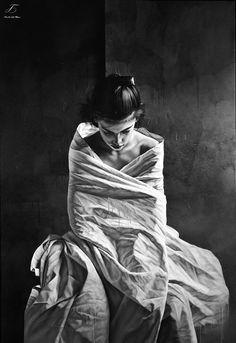 by Istvan Sàndorfi ~ Hyper-Surrealist painter / © Tutt'Art@ Figure Painting, Painting & Drawing, Woman Painting, Art Gallery, Mode Editorials, Art Moderne, Portrait Art, Figurative Art, Art Drawings