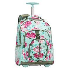 3D Little Kids Rolling backpack bags on wheels kids trolley bag ...
