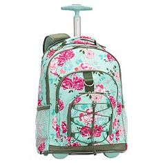 I ordered my rolling backpack for bact to school! Got my name on ...