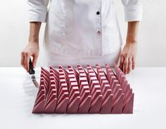 dinara kasko cooks up algorithmically-modeled cake made from 81 separate segments