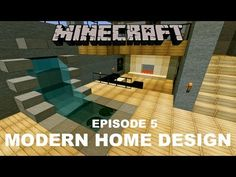 Minecraft: Modern Island House Design