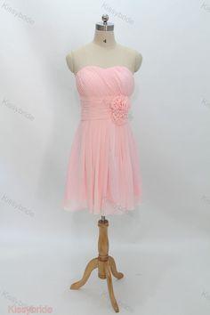 Pink bridesmaid dress  short bridesmaid dress Bridesmaid dresses