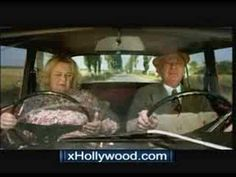 Funny TV commercial with old people driving and having some fun.