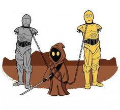 Star Wars / The Walking Dead mashup
