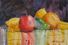 Famous Watercolor Paintings | watercolor paintings of fruit http://www.designswiki.com/wp-content ...