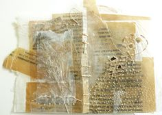 ⌼ Artistic Assemblages ⌼ Mixed Media, Journal, Shadow Box, Small Sculpture Collage Art - Ines Seidel | Astonished Book