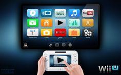 Nintendo Wii U Mockup User Interface by ~CassioLeo on deviantART