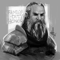 Ser Brynden Tully, The Blackfi by mattolsonart.deviantart.com