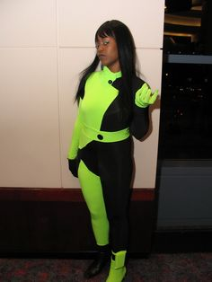 Kim Possible Shego Cosplay Costume Size M Human-Cos | kim possible ...