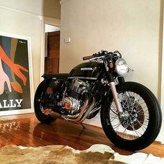 Os Motociclistas Made in Brasil: Honda CB 750 Four.