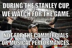 Exactly. Just one more reason hockey's better than football.