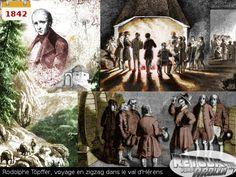 1842 - Rodolphe Töpffler: voyage en zigzag dans le Val d'Hérens Zig Zag, Painting, Art, Once Upon A Time, Travel, Art Background, Painting Art, Kunst, Paintings