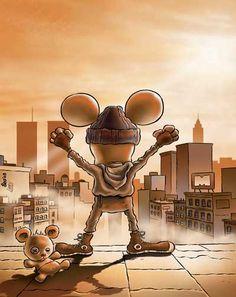 Leo Ortolani - Copertina Tutto Rat-Man 10 (Colori Larry) Rat Man, Rats, Larry, Concept, Comics, Decor, Decorating, Rat, Comic