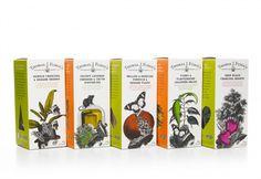 Thomas J Fudge's fudge packaging designed by Bigfish.