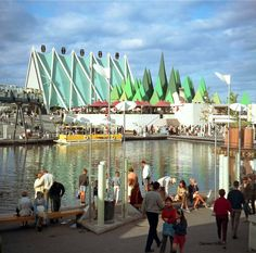 Steel Pavilion Expo 67 Montreal, Montreal Quebec, Big Show, World's Fair, Pavilion, North America, Past, 1960s, Backdrops