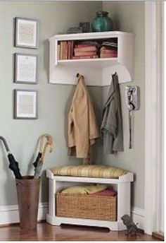 Tiny living is all about getting creative with your everyday needs, and these 10 ideas should get your imagination flowing.
