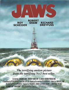 JAWS One sheet poster variant 3 Horror Movie Posters, Cinema Posters, Horror Films, Jaws Movie Poster, Best Movie Posters, Jaws Film, American Horror Story Coven, Perfect Movie, Alternative Movie Posters