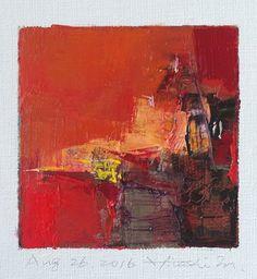 Aug. 26 2016  Original Abstract Oil Painting  by hiroshimatsumoto