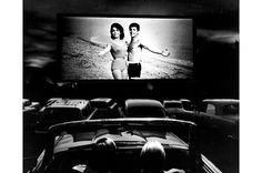 drive in movie.