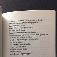 Murathan Mungan. #murathanmungan #edebiyat #kitap #şiirsokakta #şiir #alıntı Like Quotes, Poem Quotes, Poems, The Words, Cool Words, Literature Books, English Literature, Sad Stories, Powerful Words