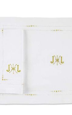 Julia B. Couture Linens - Julia B. Anjou Dinner Napkin And Placemat Set In Avocado