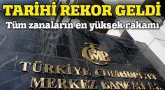 Merkez Bankası'ndan rekor kar!  Türkiye Cumhuriyet Merkez Bankası (TCMB), 2015 yılında 13,9 milyar lira ile tüm zamanların en yüksek karını elde etti.  TCMB'nin 31 Aralık 2015 tarihinde sona eren 84. hesap dönemi bilançosu bugünkü Resmi Gazete'de yayımlandı.  Bilançoya göre, TCMB 2015 yılında dönem karını 2014 yılına göre yüzde 60,4 artırarak 13 milyar 857 milyon 321 bin 192 lirayla rekor seviyeye taşıdı.