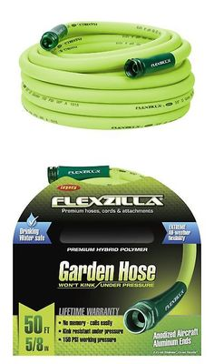 Other Watering Equipment 29522: Flexzilla Garden Hose 5 8 In. X 50 Ft.