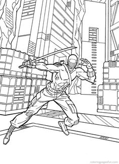 gi joe coloring pages 33