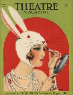 'Theatre Magazine, 1924' von Advertising Archives