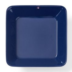 Arabia Teema Blue Platter 16 x 16 cm, New Blue Candle Holders, Everyday Dishes, Blue Candles, Pot Lids, Square Plates, Blue Plates, Vintage Dishes, Blue Design, Midcentury Modern