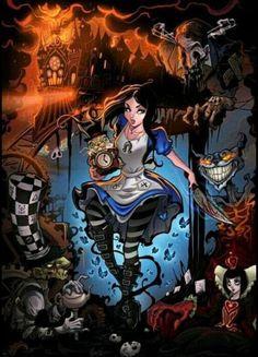 Love the creepiness of Alice