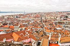 Baixa Lisboeta e Rio Tejo – Lisboa Portugal, Paris Skyline, Rio, Travel, Tejidos, Viajes, Trips, Traveling, Tourism