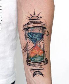 Geometric Hourglass tatto6|robcarvalhoart