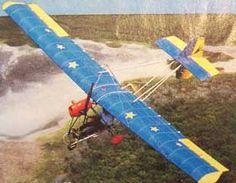 Swallow ultralight airplane