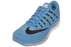 Nike Men's Air Max 2016 Running Shoes 806771 400 Blue Lagoon/Black/Brave Size 14 #Nike #RunningCrossTrainingSneakers