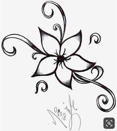 easy pencil drawings drawing flower rose flowers cool simple sketch sketches beginners