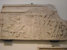 Drunk Dionysos visits Icarus - Augustan age - Naples, Archaeological Museum | Flickr - Photo Sharing!