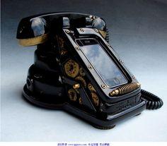 Retro iPhone set.