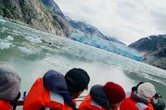 Dawes Glacier by Skiff Ride off the Safari Endeavour – Post Cruise Review: Un-Cruise Safari Endeavour, Alaska 2013 | Popular Cruising (Image Copyright © Jason Leppert)