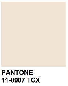 Pantone 11-0907 TCX Pearled Ivory