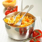 Risotto with Butternut Squash  --Courtesy of Annabel Karmel
