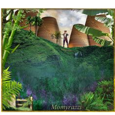 "4th Place http://www.polyvore.com/create_mountain_scene/set?id=130766865 ""create a mountain scene #2"" by momyrazzi on Polyvore"