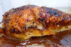 Recette de poulet rôti laqué à la sauce soja sucrée